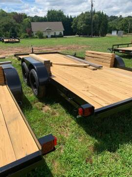 2020 TRIPLE CROWN 7X18 flat bed for sale at M&L Auto, LLC in Clyde NC