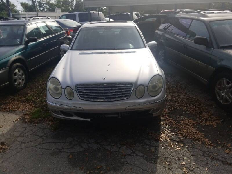 2003 Mercedes-Benz E-Class for sale at Webb's Automotive Inc 11 in Morehead City NC
