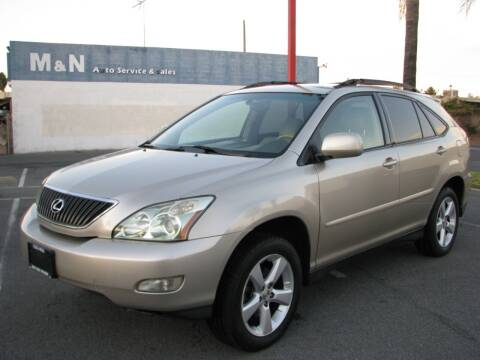 2006 Lexus RX 330 for sale at M&N Auto Service & Sales in El Cajon CA