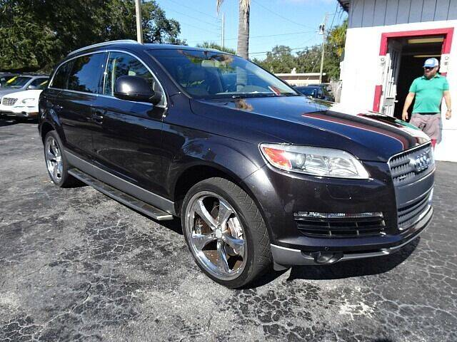 2008 Audi Q7 for sale at DONNY MILLS AUTO SALES in Largo FL