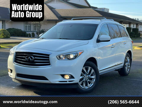 2013 Infiniti JX35 for sale at Worldwide Auto Group in Auburn WA