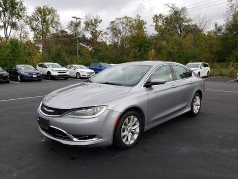 2015 Chrysler 200 for sale at White's Honda Toyota of Lima in Lima OH