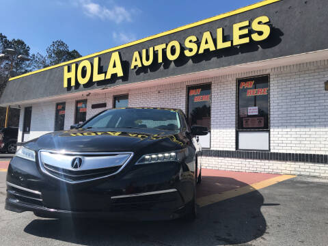 2015 Acura TLX for sale at HOLA AUTO SALES CHAMBLEE- BUY HERE PAY HERE - in Atlanta GA