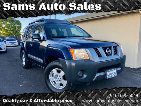 2006 Nissan Xterra for sale at Sams Auto Sales in North Highlands CA