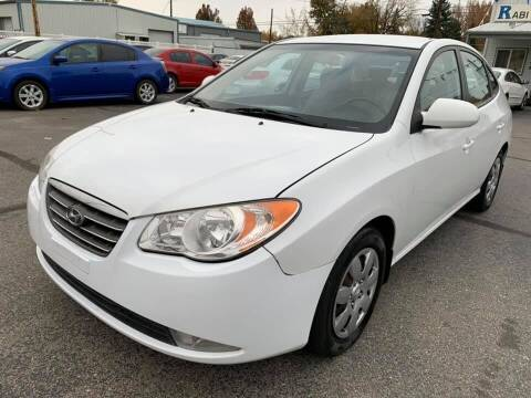 2008 Hyundai Elantra for sale at RABI AUTO SALES LLC in Garden City ID