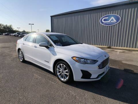 2019 Ford Fusion Hybrid for sale at Team Hall at City Auto in Murfreesboro TN