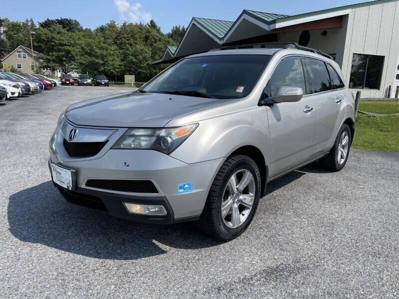 2011 Acura MDX for sale at Williston Economy Motors in South Burlington VT