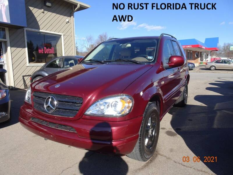 2001 Mercedes-Benz M-Class for sale at Cromax Automotive in Ann Arbor MI
