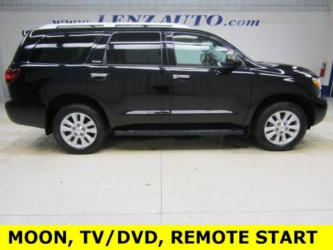 2020 Toyota Sequoia for sale at LENZ TRUCK CENTER in Fond Du Lac WI