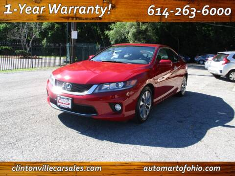 2013 Honda Accord for sale at Clintonville Car Sales - AutoMart of Ohio in Columbus OH