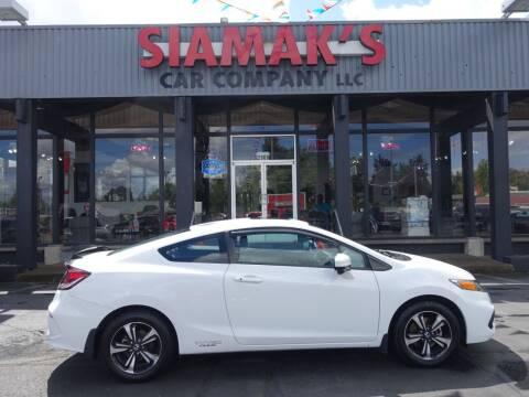 2014 Honda Civic for sale at Siamak's Car Company llc in Salem OR
