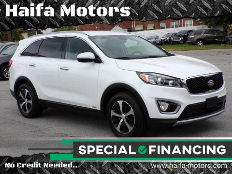 2016 Kia Sorento for sale at Haifa Motors in Philadelphia PA
