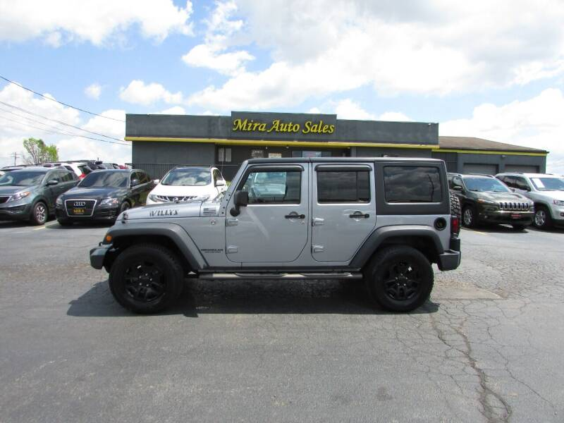 2015 Jeep Wrangler Unlimited for sale at MIRA AUTO SALES in Cincinnati OH