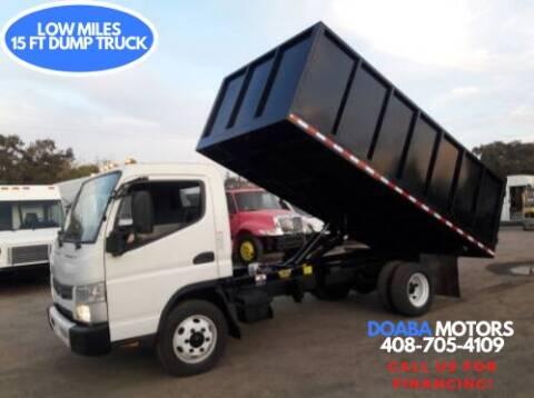 2014 Mitsubishi Fuso FEC72S for sale at DOABA Motors - Dump Truck in San Jose CA