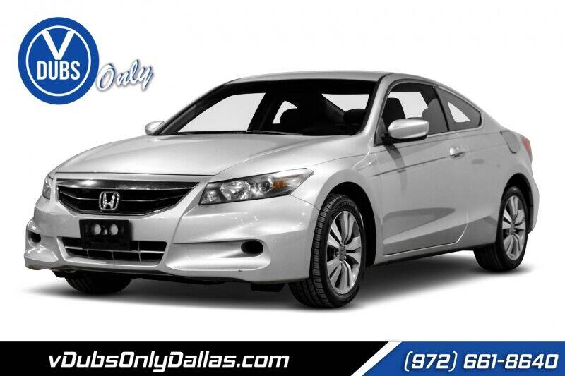 2012 Honda Accord for sale at VDUBS ONLY in Dallas TX