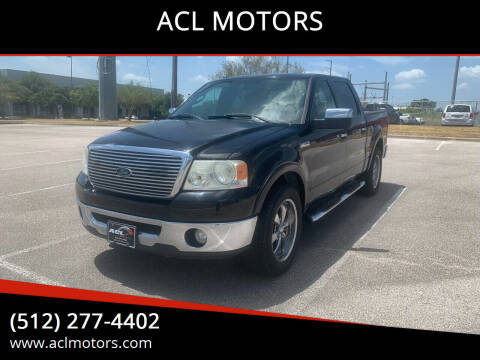 2007 Ford F-150 for sale at ACL MOTORS in Austin TX