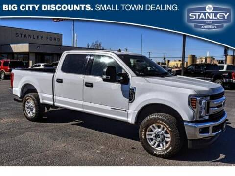 2019 Ford F-250 Super Duty for sale at STANLEY FORD ANDREWS in Andrews TX