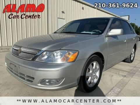 2001 Toyota Avalon for sale at Alamo Car Center in San Antonio TX