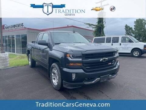 2018 Chevrolet Silverado 1500 for sale at Tradition Chevrolet Buick in Geneva NY
