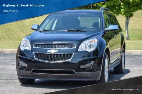 2014 Chevrolet Equinox for sale at Highway 41 South Motorplex in Springfield TN