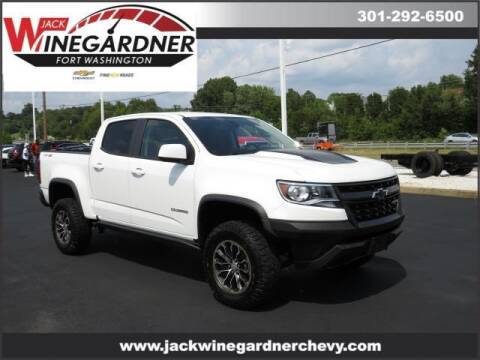 2019 Chevrolet Colorado for sale at Winegardner Auto Sales in Prince Frederick MD
