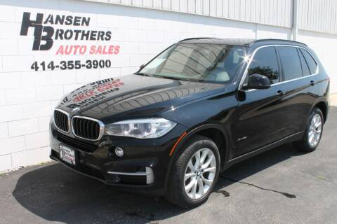 2016 BMW X5 for sale at HANSEN BROTHERS AUTO SALES in Milwaukee WI
