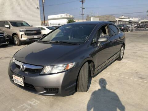2010 Honda Civic for sale at Hunter's Auto Inc in North Hollywood CA