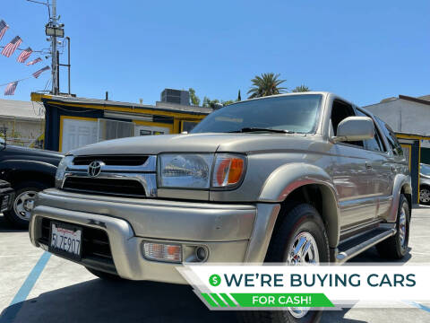 2001 Toyota 4Runner for sale at Good Vibes Auto Sales in North Hollywood CA