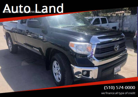 2015 Toyota Tundra for sale at Auto Land in Newark CA