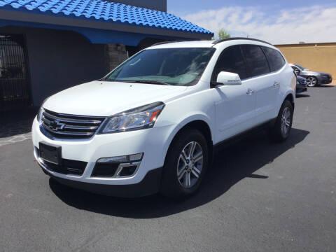 2016 Chevrolet Traverse for sale at SPEND-LESS AUTO in Kingman AZ