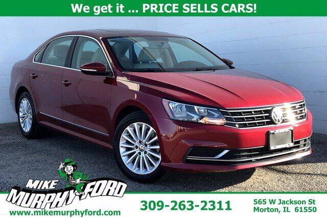 2017 Volkswagen Passat for sale at Mike Murphy Ford in Morton IL
