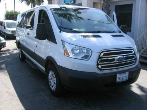 2015 Ford Transit Passenger for sale at In-House Auto Finance in Hawthorne CA