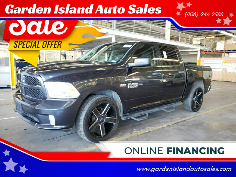 2014 RAM Ram Pickup 1500 for sale at Garden Island Auto Sales in Lihue HI