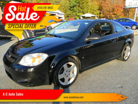 2008 Chevrolet Cobalt for sale at A C Auto Sales in Elkton MD