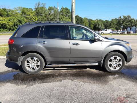 2007 Acura MDX for sale at All Star Auto Sales of Raleigh Inc. in Raleigh NC