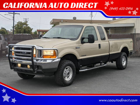 2001 Ford F-250 Super Duty for sale at CALIFORNIA AUTO DIRECT in Costa Mesa CA