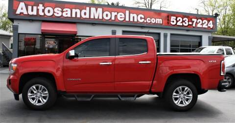 2016 GMC Canyon for sale at Autos and More Inc in Knoxville TN