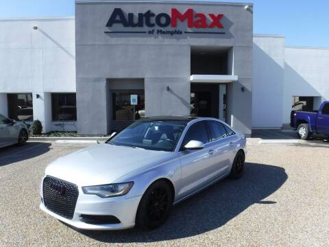 2013 Audi A6 for sale at AutoMax of Memphis - Logan Karr in Memphis TN