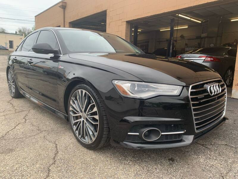 2016 Audi A6 for sale at Martys Auto Sales in Decatur IL