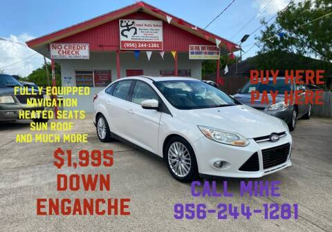 2012 Ford Focus for sale at Coqui Auto Sales in La Feria TX