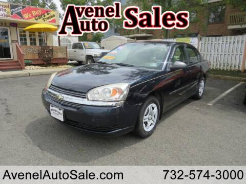 2005 Chevrolet Malibu for sale at Avenel Auto Sales in Avenel NJ