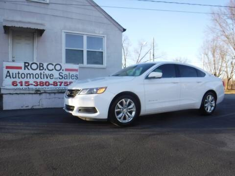 2017 Chevrolet Impala for sale at Rob Co Automotive LLC in Springfield TN