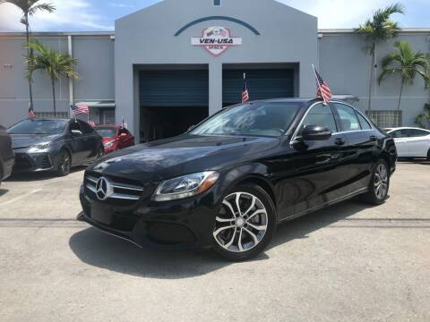 2017 Mercedes-Benz C-Class for sale at Ven-Usa Autosales Inc in Miami FL