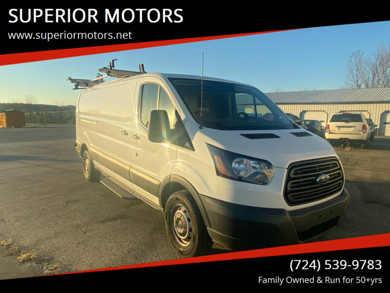 2017 Ford Transit Cargo for sale at SUPERIOR MOTORS in Latrobe PA