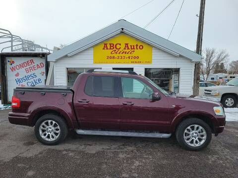 2007 Ford Explorer Sport Trac for sale at ABC AUTO CLINIC - Chubbuck in Chubbuck ID