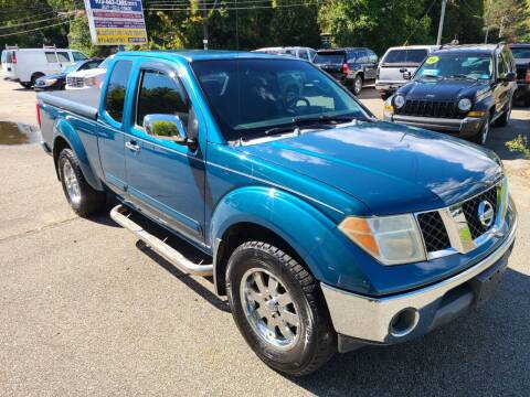 2005 Nissan Frontier for sale at New Jersey Automobiles and Trucks in Lake Hopatcong NJ