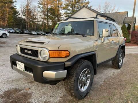 2011 Toyota FJ Cruiser for sale at Williston Economy Motors in Williston VT