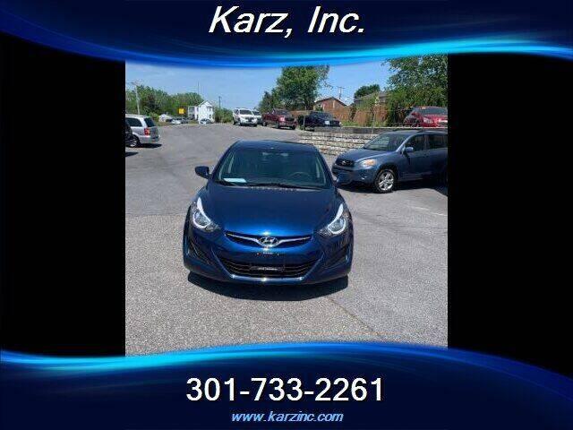 2015 Hyundai Elantra for sale at Karz INC in Funkstown MD