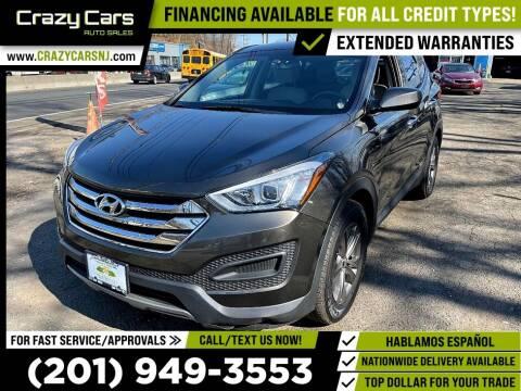 2014 Hyundai Santa Fe Sport for sale at Crazy Cars Auto Sale in Jersey City NJ