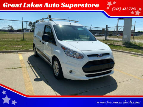 2016 Ford Transit Connect Cargo for sale at Great Lakes Auto Superstore in Pontiac MI